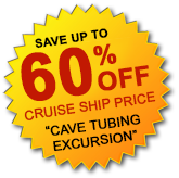 60% Off Cave Tubing Button